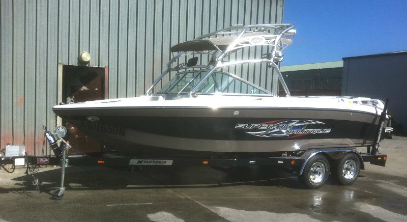 2007 Nautique 220 Super Air Team 001