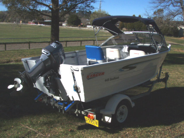 Stacer 449 Seahawk Runabout 2008 Apex Marine